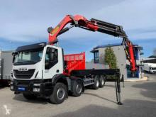 Camión caja abierta Iveco Trakker AD 410 T 45