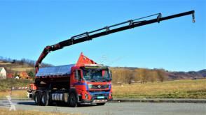 Kamion plošina Volvo FMX 410 Kipper 6,45 m+ Kran/FUNK*6x4