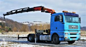 MAN alváz teherautó TGA 28.480 Sattelzugmaschine+KRAN/FUNK! 6x4!!