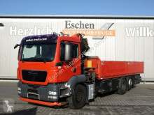Camion MAN TGS 26.360 6x2-2, Palfinger PK 15500 Funk, Klima cassone fisso usato