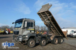 MAN three-way side tipper truck 35.480 TGS BB 8x4, Bordmatik, Intarder,Automatik