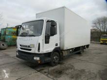 Vrachtwagen bakwagen Iveco 75E19 Koffer, Ladebordwand, Klima, Hinterachssch