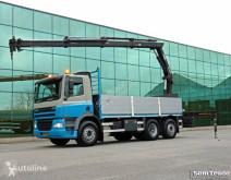 Camion DAF CF 85.340 EURO 3 MANUAL GEARBOX HIAB 166 E-3 HI DUO HOLLAND TRUC plateau occasion