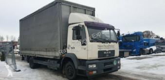 MAN 14.220 LKW gebrauchter Pritsche und Plane