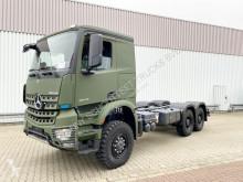 Camion châssis Mercedes Arocs 3346 A 6x6 3346 A 6x6, Einzelbereifung, ADR