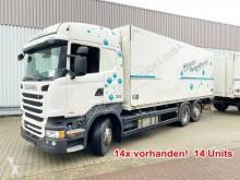 Scania furgon teherautó R450 LB 6x2-4 R450 LB 6x2-4 Getränkekoffer, Retarder, Lift-/Lenkachse, Stapleraufnahme, 14x Vorhanden!