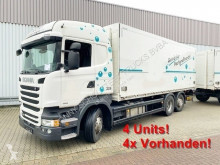 Camion furgone Scania R450 LB 6x2-4 R450 LB 6x2-4 Getränkekoffer, Retarder, Lift-/Lenkachse, Stapleraufnahme, 14x Vorhanden!