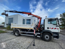 MAN TGM truck used two-way side tipper