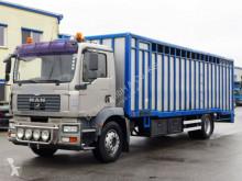 MAN lószállító utánfutó teherautó TGM 18.320*Euro 4*Schalter*Tempomat*