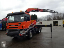 Camion Scania P380 Pritsche mit PK23002 6x2 occasion