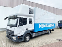Camion Mercedes Atego 823 L 4x2 823 L 4x2 Möbelkoffer, Topsleeper, 2x AHK fourgon occasion