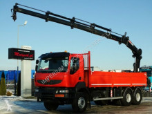 Ciężarówka Renault KERAX 410/6X4/L:6,9M+CRANE HIAB 200/RADIO/MANUAL platforma używana