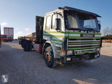 Camion Scania H 93H250 platformă si obloane second-hand