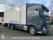 "Camion DAF XF 480 ""Neu"" Menke 3 Stock Hubdach van à chevaux occasion"