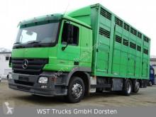 Camion van à chevaux Mercedes Actros 2541 Menke 3 Stock Vollalu
