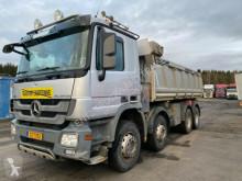 Camion tri-benne Mercedes 4151-8X4-MEILLER BORDMATIC-TOP