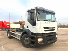 Camion Iveco Stralis 190 E 31 SCARRABILE bal. ant - pne. post polybenne occasion