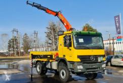 Ciężarówka platforma Mercedes 4x4 ACTROS 1841 PALFINGER PK 12000 KRAN CRAN