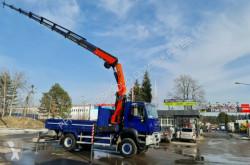 Iveco plató teherautó 4x4 TRAKKER 440 PALFINGER PK 29002 Kran