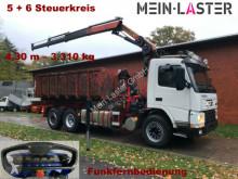Kamión vozidlo s hákovým nosičom kontajnerov Volvo FM 12-420 PK 16502 C 12m - 1.000 kg Funk FB