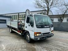 Camion Isuzu LTD NQR 70R 5LX Kran Bonfiglioli 5000L plateau ridelles occasion