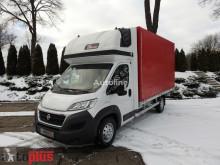 Camión lona corredera (tautliner) Fiat DUCATOSKRZYNIA PLANDEKA 8 PALET KLIMATYZACJA WEBASTO TEMPOMAT [