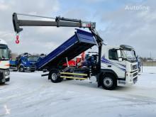 Camion Volvo FM 9.260 kiper + kran , super stan ribaltabile usato