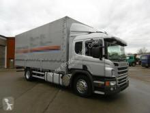 Camion cu prelata si obloane Scania P320 Euro 5 CP19N Pritsche Plane AHK