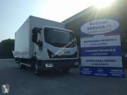 Teherautó Iveco Eurocargo 75 E 16 használt polcozható furgon