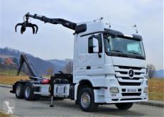 Vrachtwagen portaalarmsysteem Mercedes Actros 2548 Abrollkipper + Kran* Top Zustand!!
