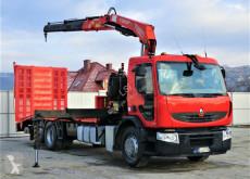 Renault tow truck PREMIUM370DXI Abschleppwagen 7,40m +Kran/FUNK6x2