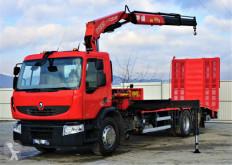 Camion cassone Renault PREMIUM370DXI Abschleppwagen 7,40m +Kran/FUNK6x2