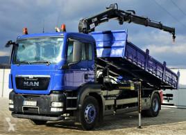 Camion MAN TGS 18.320 Kipper 6,00m + Kran *4x2 * benne occasion