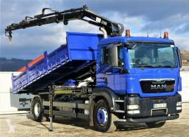 Kamion MAN TGS 18.320 Kipper 6,00m + Kran *4x2 * plošina použitý
