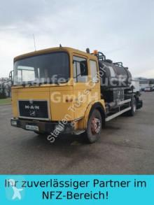 Camión MAN 19 280 F FEDERAL Asphaltspritz Emulsi BREINING cisterna usado