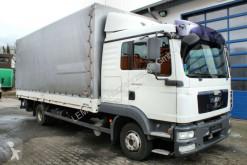Camión lona corredera (tautliner) MAN TGL 8.220 4x2 Pritsche/Plane+LBW (Motorschaden)