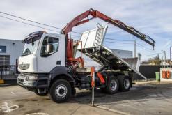 Vrachtwagen Renault Kerax 450 DXi tweedehands kipper