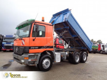 Mercedes Actros 2640 truck used three-way side tipper