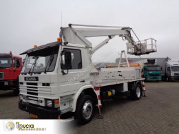 Scania M truck used aerial platform