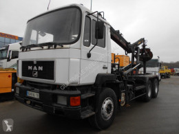 MAN 33.322 truck used hook arm system