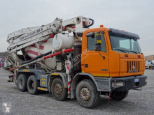 Camion Astra HD7 84.38 béton malaxeur + pompe occasion