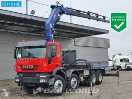 Camião Iveco Trakker 410 estrado / caixa aberta usado