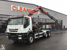 Iveco hook lift truck Trakker