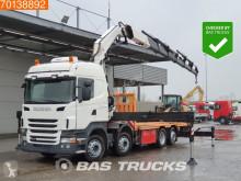Vrachtwagen Scania R 440 tweedehands platte bak