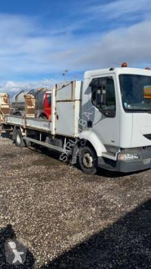 Kamión Renault Midliner 180 náves na prepravu strojov ojazdený