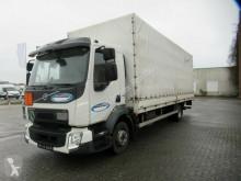 Volvo ponyvával felszerelt plató teherautó FL 210, Euro 6, Klima, Pritsche&Plane&LBW