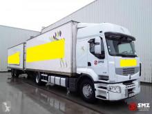 Camion remorque fourgon Renault Premium