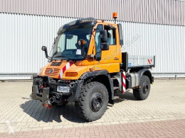 Camion Unimog U 400 4x4 U 400 405/12 4x4, Kipper, Kommunalhydraulik, VarioPilot, Zapfwelle, Heckkraftheber