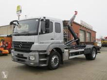 Camion polybenne Mercedes Axor 1829 Abrollkipper 6 Sitzer org.89TKM
