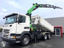 Scania three-way side tipper truck G 410